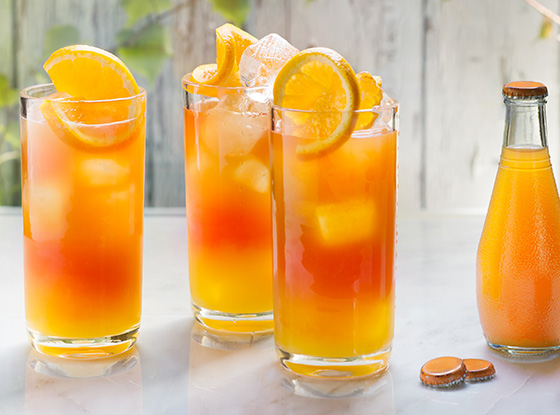 Sparkling Citrus Tea