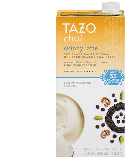 Tazo tea latte