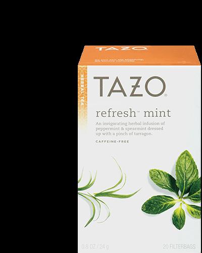 Refresh mint tea