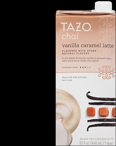 Chai Vanilla Caramel Latte Concentrate