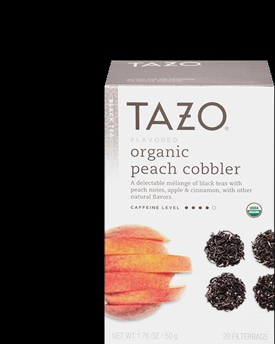 Organic Peach Cobbler Black Tea
